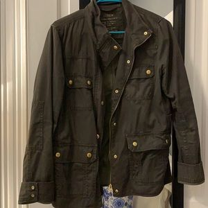 J.Crew Army Green Jacket